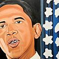President Elect Obama Poster by Patrick Hunt