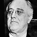 President Franklin Delano Roosevelt Print by War Is Hell Store