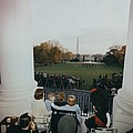 President Kennedy And His Family Watch Print by Everett