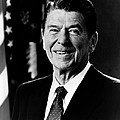 President Ronald Reagan Poster by International  Images