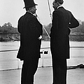 President Roosevelt And Gifford Pinchot Poster by Photo Researchers
