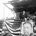 President Taft giving a speech in Augusta - Georgia c 1910 Poster by International  Images