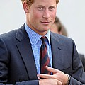 Prince Harry At A Public Appearance Poster by Everett