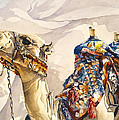 Prince of the Desert Print by Beth Kantor