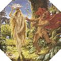 Puck and the Fairy Poster by Joseph Noel Paton