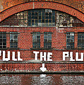 Pull The Plug Print by Aurica Voss