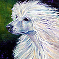 Pure Poetry - Chinese Crested Print by Lyn Cook