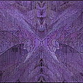 Purple Poeticum Print by Tim Allen