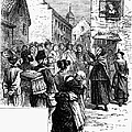 QUAKER PREACHING, 1657 Poster by Granger