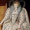 Queen Elizabeth I of England and Ireland Poster by Anonymous