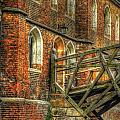 Queens' College And Mathematical Bridge Print by Yhun Suarez