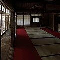 QUIETUDE of ZEN MEDITATION ROOM - KYOTO JAPAN Print by Daniel Hagerman
