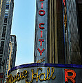 Radio City Music Hall Print by Paul Ward