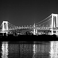 Rainbow Bridge At Night Print by xkhol