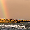 rainbow by the sea Poster by Stylianos Kleanthous