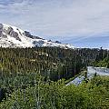 Rainier Journey Print by Mike Reid