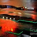 Rainy Night in Chinatown Print by Dean Harte