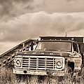 Ready for the Harvest Sepia Poster by JC Findley
