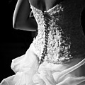 Rear View Of Bride Poster by John B. Mueller Photography