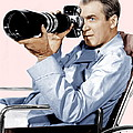 Rear Window, James Stewart, 1954 Print by Everett