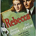 Rebecca, Joan Fontaine, Laurence Poster by Everett