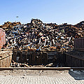 Recycle Dump Site Or Yard For Steel Poster by Corepics
