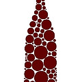 Red Wine Bottle Poster by Frank Tschakert