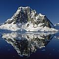 Reflections with ice Poster by Antarctica