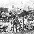 REPUBLICAN BARBECUE, 1876 Print by Granger