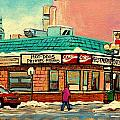 RESTAURANT GREENSPOT DELI HOTDOGS by CAROLE SPANDAU