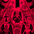 Revelation 666 Print by Kenal Louis