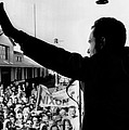 Richard Nixon Campaigning For Governor Poster by Everett