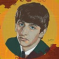 Ringo Starr Poster by Suzanne Gee