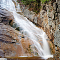 Ripley Falls - Crawford Notch State Park New Hampshire USA Poster by Erin Paul Donovan