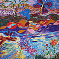 River of Life Poster by Heather Hennick