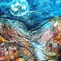 River of Souls Print by Patricia Allingham Carlson