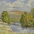 River Spey - Kinrara Print by Tim Scott Bolton