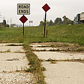 Road Ends Sign Poster by Will & Deni McIntyre