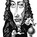 Robert Boyle, Caricature Poster by Gary Brown