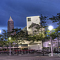 Rock and Roll Plaza Print by David Bearden