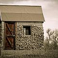 Rock shed 2 Print by Marilyn Hunt