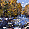 Rocky Mountain Water 8 x 10 Poster by Kelley King