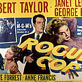 Rogue Cop, George Raft, Anne Francis Poster by Everett