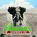 Roll Tide Print by Martin Lagewaard