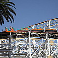 Roller Coaster - 5D17608 Print by Wingsdomain Art and Photography