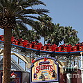 Roller Coaster - 5D17628 Print by Wingsdomain Art and Photography