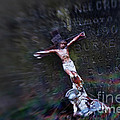 Roman and Crucifix Print by Susan Isakson