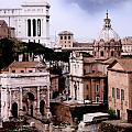 Roman Forum Poster by Traveler Scout