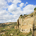 Ronda Cliffs in Andalusia Poster by Artur Bogacki
