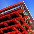 Roof Corner - Expo China Pavilion Shanghai Print by Christine Till